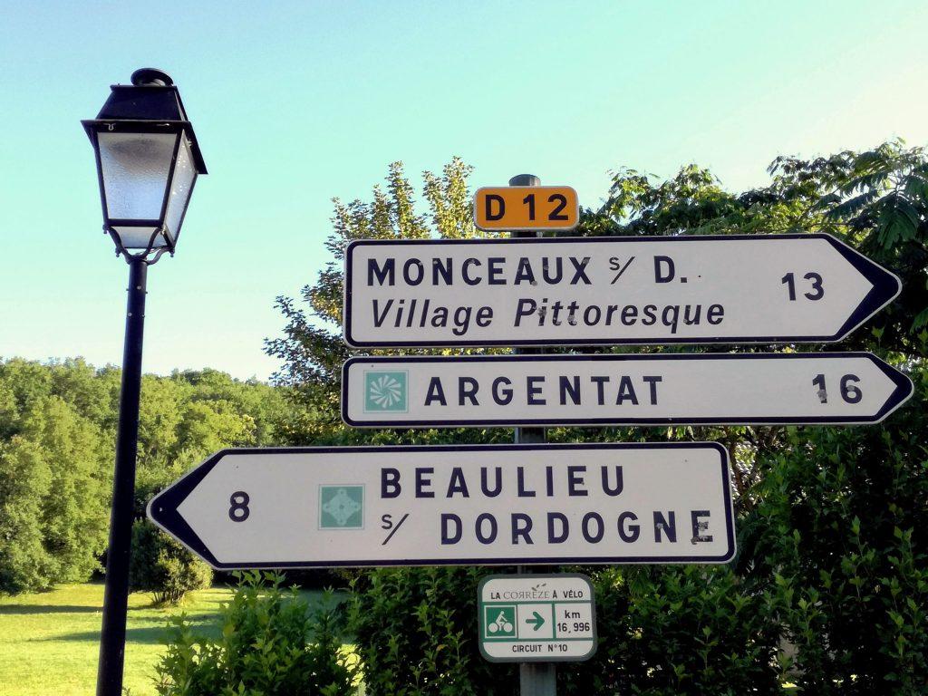 Monceaux Argentat Beaulieu Dordogne