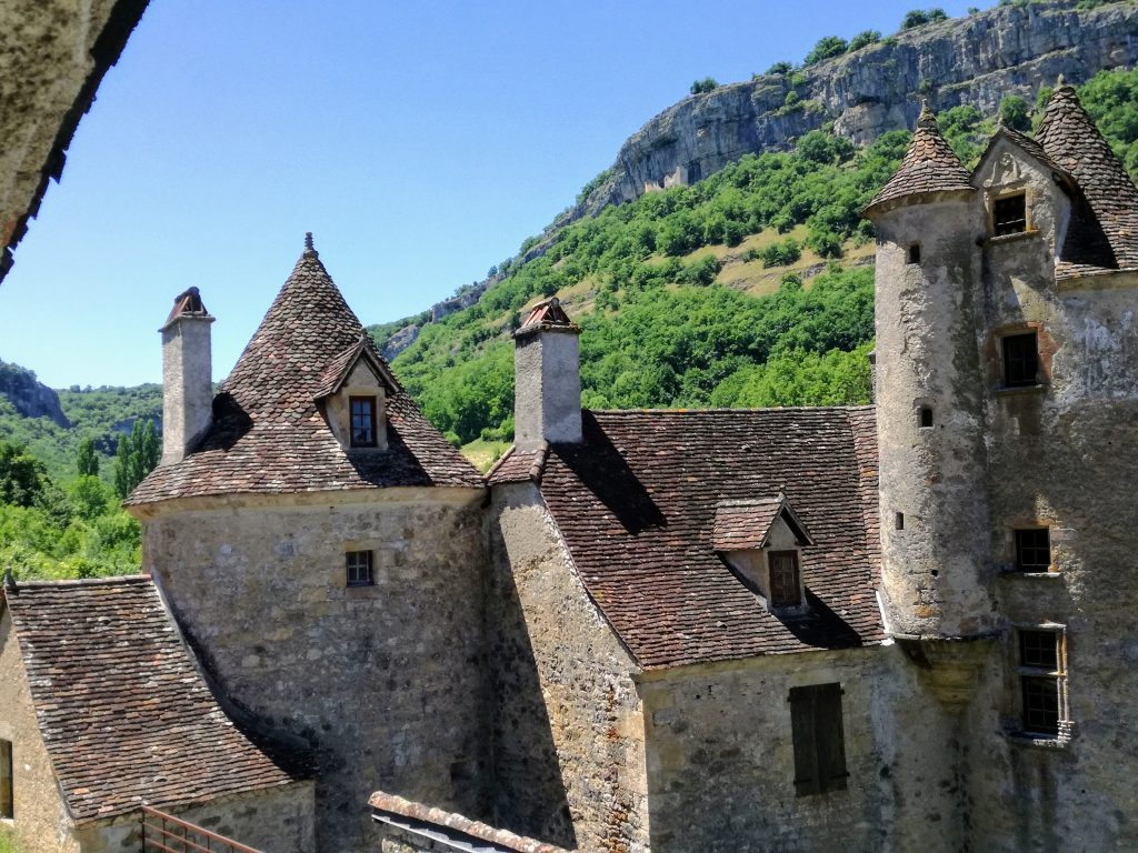 Typical architecture and style of the Corrèze and Lot houses stone