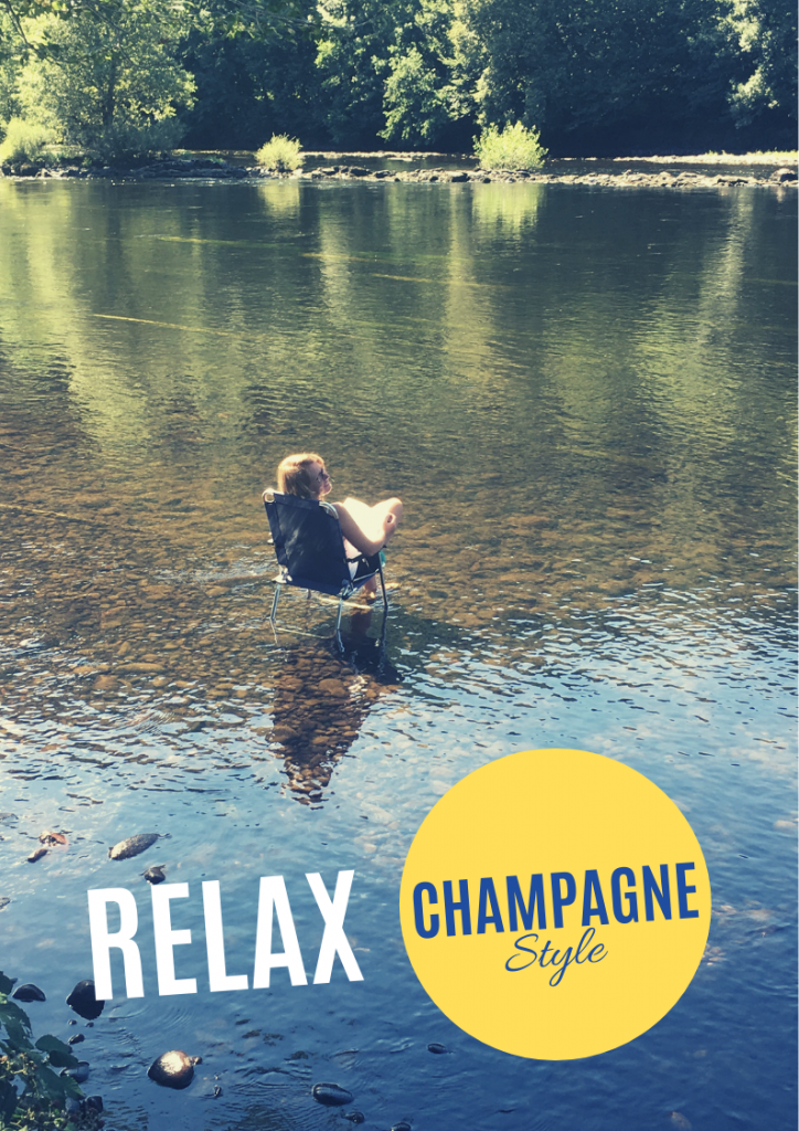 Relax on small campsite La Champagne in France