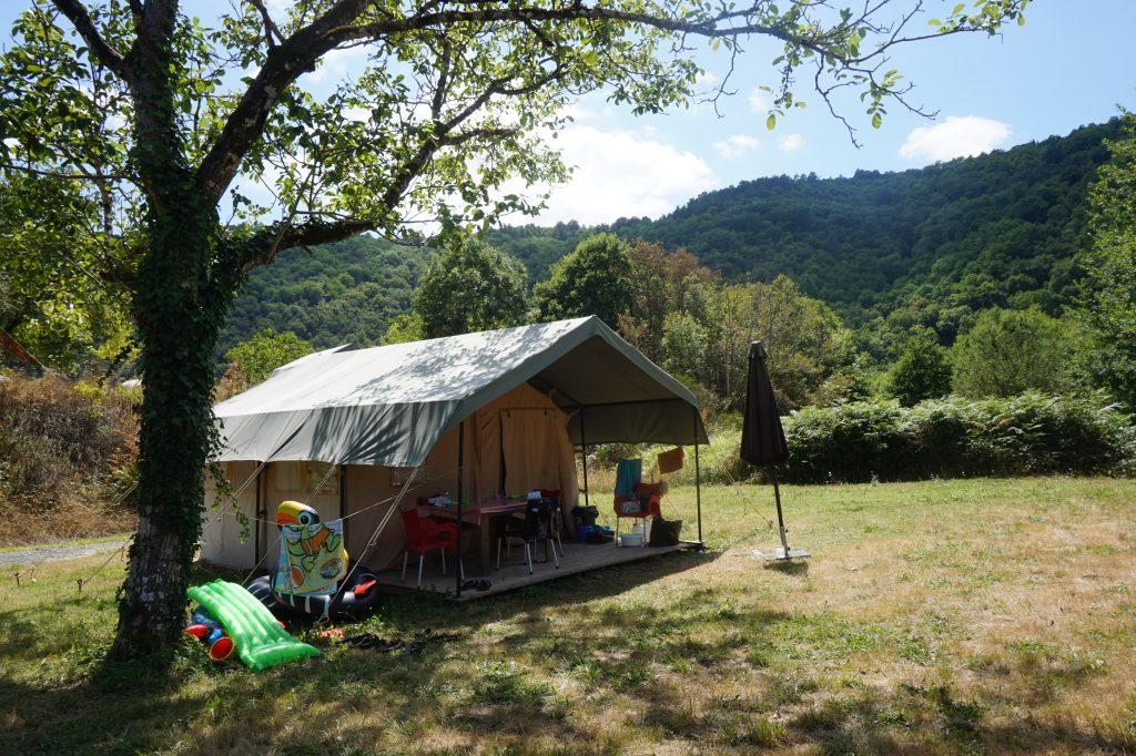 Safari Tent op T-niveau